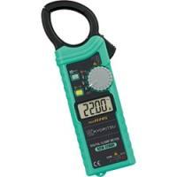 ・薄型・超軽量なクランプメータ ・最大測定電流 AC1000A ・込み入った配線での測定に便利なティ...