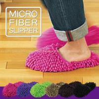 超極細繊維マイクロファイバーがミクロ単位の小さいゴミもサッとふきとり、履いて歩くだけで掃除ができちゃ...