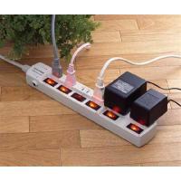 パソコン・プリンター・スキャナーなどのOA機器の電源管理がスイッチで一度にON/OFFでき待機電力を...