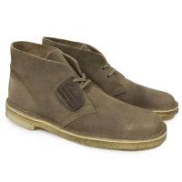 (クラークス・デザートブーツ・BOOTS・スエードレザー・チャッカ・靴・メンズ・26110054)【...