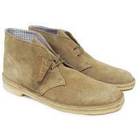 (クラークス・デザートブーツ・BOOTS・スエードレザー・チャッカ・靴・メンズ・26110058)【...