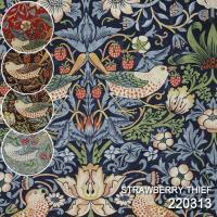 有名なウィリアム・モリス(William Morris)氏のデザイン生地♪  【Strawberry...