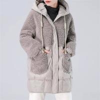中綿コート レディース ダウン風コートファーコート ミディアムコート 冬 アウター ジャケット フード付き 体型カバー 厚手 お洒落 着痩せ 大きいサイズ 30代