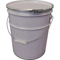 白色無地のペール缶です。 シンプルなデザインで、場所を選ばず使用できます。 天板が取り外せるので内容...