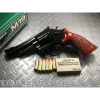 コクサイ 発火モデルガン S&W M19 .357マグナム 4インチ ポリ・ウッディグリップ...