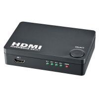 製品仕様 ■入力:HDMI×4ポート ■出力:HDMI×1ポート ■HDMI端子:タイプA(19ピン...