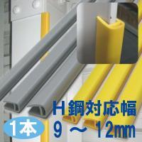 商品名:H鋼衝撃緩衝材〈小〉 H鋼対応幅:9〜12mm  長  さ:1m 数:1本(バラ) 材 質:...