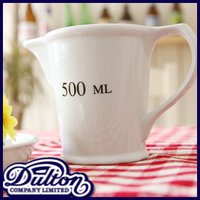 DULTON ダルトン セラミック メジャーリングジャグ 500ml メジャーカップ 計量カップ 計量コップ 計量器 量り メジャー メジャーリングカップ ジャグ 水差し