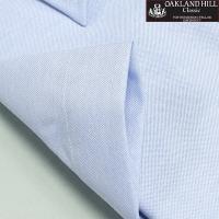 半袖 オックスフォード ブルー Yシャツ クールビズ用ワイシャツ ボタンダウン 形態安定 カッターシャツ メンズ 形状記憶