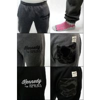 KENNEDY DENIM (ケネディ デニム) 【メンズ】 パンツ ジェット セッター スウェット パンツ スリムフィット (GREY) (BLACK) 全2色 F13JET