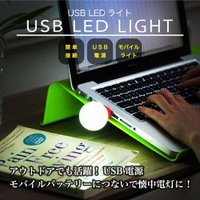送料無料 USB LEDライト USBバッテリーにつないで懐中電灯として利用可能 携帯懐中電灯 簡単...