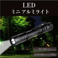 超小型 LED 懐中電灯 ハンディライト