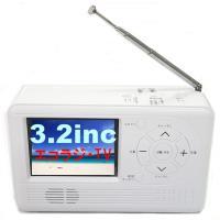 AID エコラジTV ワンセグTV ラジオ ライト 手回し充電 防災 RAD-1SFAMW 3.2インチ