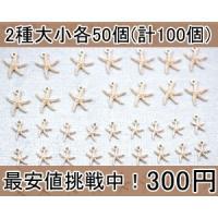 サイズ:大の約15×17mm 小の約10×12mm  入数:2種大小各50個(計100個) 素材:合...