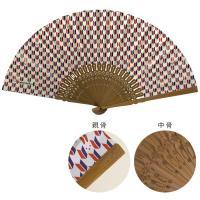 komon+ 和紙扇子70型25間〔3本セット〕矢絣うさぎ