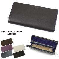 【送料無料】 長財布 メンズ KATHARINE HAMNETT LONDON(キャサリンハムネット...