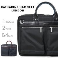 【送料無料】 ビジネスバッグ メンズ ブリーフケース KATHARINE HAMNETT LONDO...