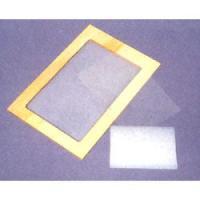 光に含まれる紫外線によって硬化する乳剤を用いた感光法シルクスクリーン材料で、描いた図柄・写真・印刷文...