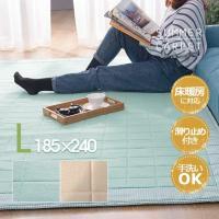 ラグ 洗える 190X240 マット カーペット 北欧 おしゃれ ホットカーペット対応 リビングマット マイクロファイバー 絨毯 じゅうたん 寝室 rug 花ちゃんのラグ