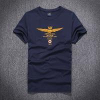 Tシャツ メンズ アメカジ  半袖 カレッジ 刺繍   サイズ:単位(cm) 実寸:胸囲/着丈/肩幅...