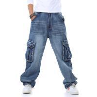 デニムパンツ メンズ ジーンズ ロングパンツ デニム 無地 ゆたり 新作 大きいサイズ カジュアル ...
