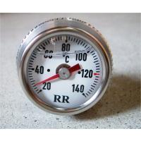 ドイツ RR社の油温計 オイル封入で針のブレがありません。 文字盤の向きはエンジンを十分 暖めてから...