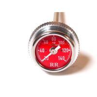 RR社 油温計/オイルテンプメーター SR400 SR500 XT500 赤/034 レッド