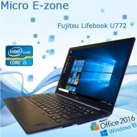 中古ノートパソコン 富士通(FUJITSU) Windows10 Office