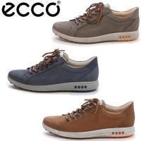 タウンユースのスニーカーとしても履けるシンプルデザインが魅力的な、ECCO(エコー)のゴルフシューズ...