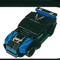 合体ブロック スポーツカー 1:スポーツカーA 榎並産業 ガチャポン yuyou