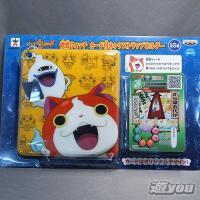 妖怪ウォッチ カード付ネックストラップホルダー 1:ネックストラップホルダーA+妖怪カード(から傘お化け)バンプレスト プライズ|yuyou