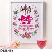 大人気のディズニーししゅうキットです。  お花やリボンなどかわいいモチーフが魅力のキットです。  ◆...