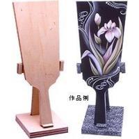 羽子板形のトールペイント用白木です。 サイズ:120×9×300mm         木製品(合板)
