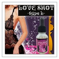 商品名 LOVE SHOT -typeL- ( ラブショット ) 種別 健康飲料、フェロモンリキッド...