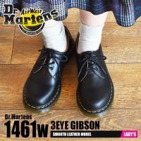 ドクターマーチン Dr.Martens シューズ 3ホール 1461w ギブソン レディース