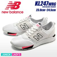 NEW BALANCE KL247WRG 113  ・ワイズ:M  ■サイズについて このシューズは...