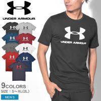 (プレミアム会員限定価格) UNDER ARMOUR アンダーアーマー 半袖Tシャツ メンズ SPORTSTYLE LOGO SS 1329590