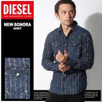 ディーゼル DIESEL ウェア トップス デニムシャツ NEW SONORA CAMICIA メンズ