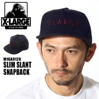 エクストララージ X-LARGE SLIM SLANT SNAPBACK キャップ メンズ  レディース