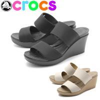 CROCS LEIGH II STRAP WEDGE ■サイズについて 普段履いている靴と同じサイズ...
