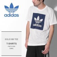 ADIDAS ORIGINALS アディダス オリジナルス Tシャツ SOLID BB TEE CW2340 メンズ