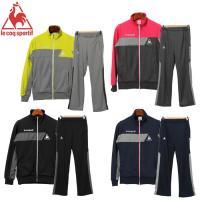 上下セットのレディーススポーツウェア(トレーニングウェア)「ウォームアップ ジャケット&パンツ」です...