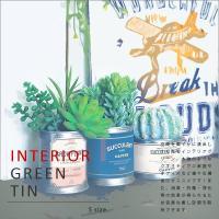 【インテリアグリーン ティンポット】光触媒 観葉植物 消臭 抗菌 防汚 浄化 空気清浄 シックハウス