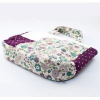 バッグインバッグ ミニバッグ/紫色のシックな花柄(メール便 送料無料)