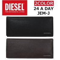 ef660df8c332 DIESEL ディーゼル JEM-J 24 A DAY 財布 二つ折り 長財布 二つ折り財布