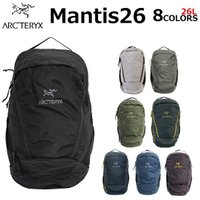 ARCTERYX アークテリクス MANTIS 26 マンティス 26 バックパック  リュック リュックサック メンズ レディース A4 26L 7715