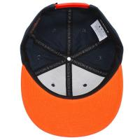 NIXON ニクソン TELESCOPE SNAPBACK HAT テレスコープ スナップバック ハット キャップ 帽子 メンズ レディース C27391983 ネイビー×オレンジ