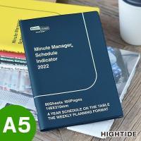 スケジュール帳 2020 A5 手帳 ミニットマネージャー ハイタイド 12月始まり マンスリー ウィークリー かわいい NX-1 令和