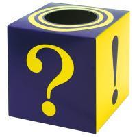 紙製の組み立て式抽選箱です。?と!デザインなので、抽選以外の幅広いイベントにお使いいただけます。サイ...