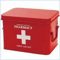 可愛い薬箱  生活感が出やすい救急セットや風邪薬などは、ひとつにまとめてすっきり収納しましょう。  ...